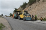 MAINTENANCE WORKS LAUNCHED ON THE ÇATALKÖY-DEĞİRMENLİK ROAD HAD BEEN COMPLETED.