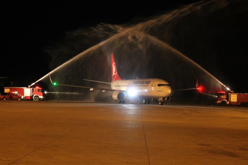 THE FIRST INTERNATIONAL FLIGHT FROM ISTANBUL AIRPORT WAS MADE TO THE TRNC