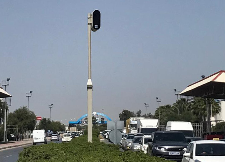 TRAFFIC LIGHTS VIOLATION DETECTION CAMERAS WILL BE ACTIVATED TOMORROW