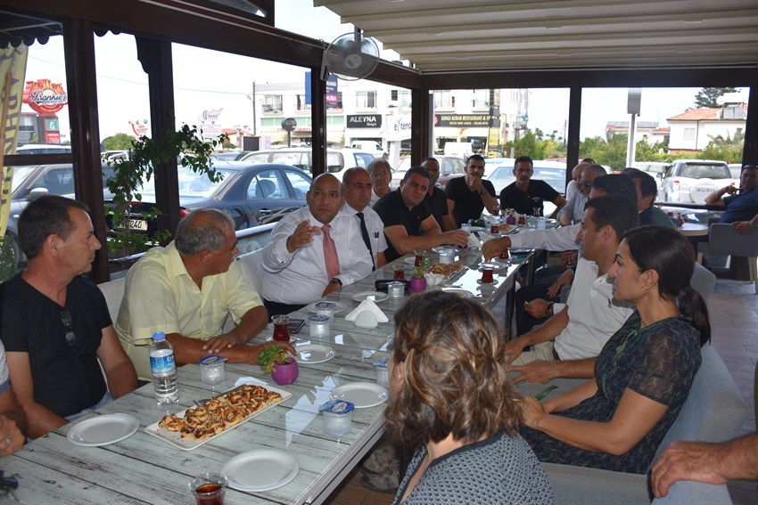 ATAKAN ATTENDS MEETING FOR GİRNE WESTERN BYPASS