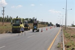 ROAD REPAIR WORKS NEARLY COMPLETE