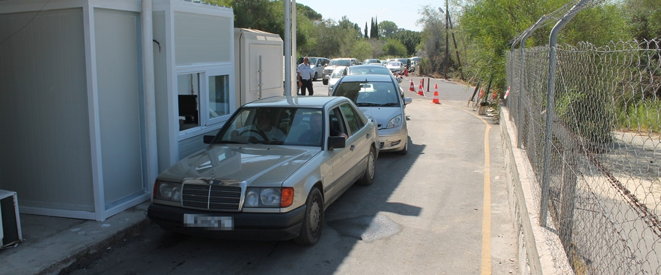 THIRD LANE OPENED AT METEHAN BORDER GATE
