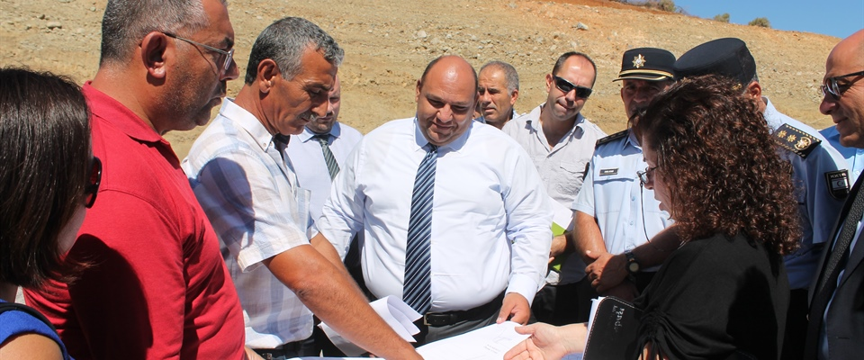 MINISTER ATAKAN OVERSAW WORKS AT APLIÇ AND GEMİKONAĞI