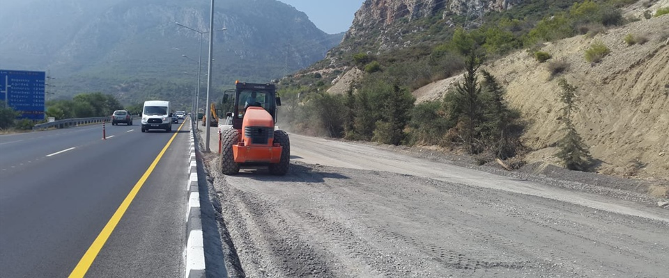SECOND PHASE OF THE LEFKOŞA-GİRNE ROAD OPENS TO TRAFFIC TOMORROW