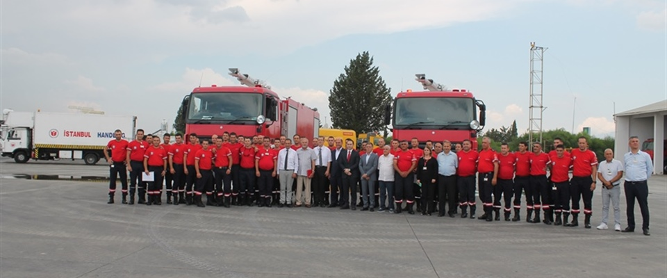ERCAN FIRE DEPARTMENT RECEIVES 33 NEW RECRUITS