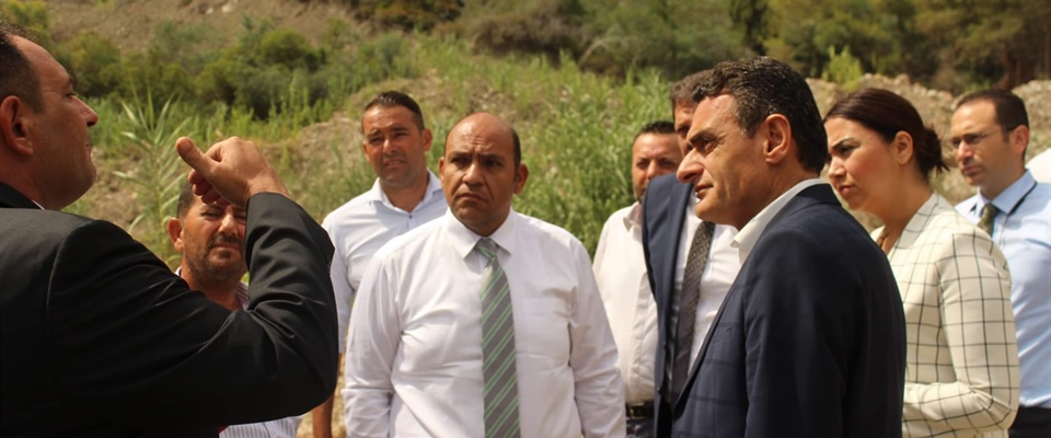 THREE MINISTRIES WORKING ON JOINT PROJECT IN GİRNE