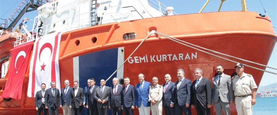 GEMİ KURTARAN WILL SERVE IN TRNC MARITIME ZONE